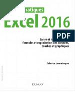 [Travaux pratiques (Dunod)] Lemainque, Fabrice - Excel 2016 _ saisie et mise en forme, formules et exploitation des données, courbes et graphiques (2016, Dunod)