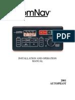 ComNav V1R Autopilot User Manual