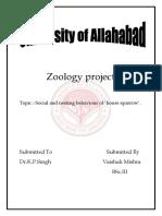 Zoology Project