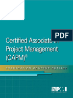 Certified Associate Project Management Exam Outline