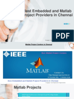 Best Embedded and Matlab Projects in Chennai