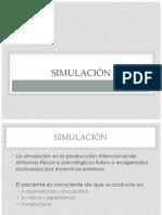 Simulación y Facticio