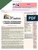 Reseña - República Cultural Festival de Tres Cantos - David Aladro-Vico LRM Performance