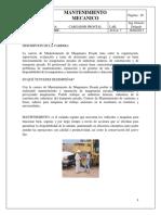 Mantenimiento Mecanico Cargador Frontal