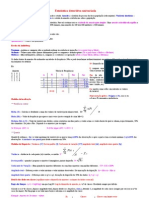 Matéria para o exame (Univariada e bivariada)