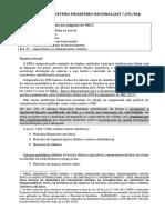 Resumo - Crimes Federais (Baltazar, 2017) - Sistema Financeiro Nacional
