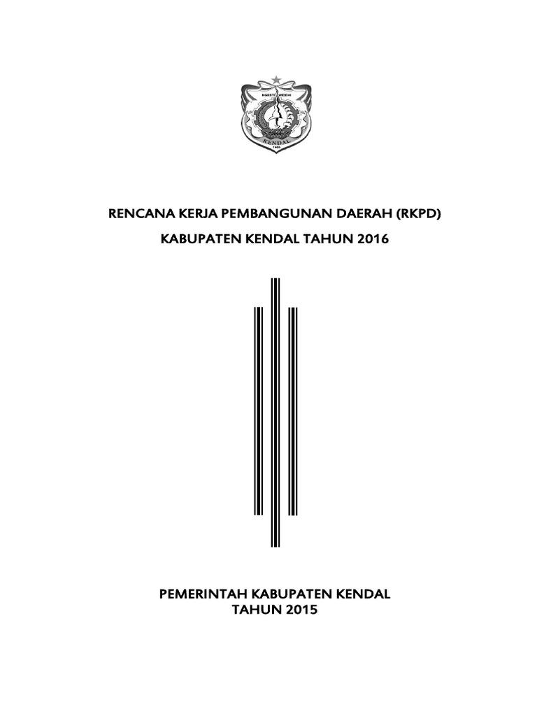 Perbup Rkpd 2016
