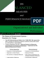 Irs Balanced Measures Presentation