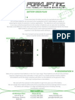 Forklift Battery Green Initiative - Battery Recycling