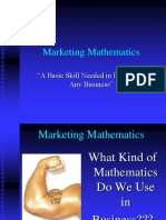Marketing Mathematics.ppt