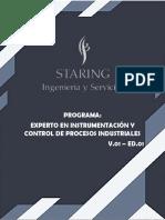 Programa Experto en Instrumentación y Control de Procesos Industriales
