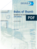Rules of Thumb Guidelines for building (5th Ed) - Cover