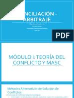 Módulo Teoría del Conflicto - MASC