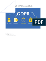 Top X GDPR Assessment Tools