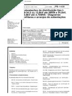 NBR 11191 - 1989 - Subestacoes de distribuicao tipo I-69-34 5 ou 13 8 kV ate 5 MVA e 34 5 kV 13.pdf