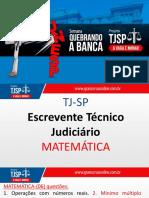 Tj Sp 2017 Matemática Aulão