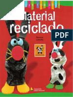 Brincar Com Arte - Material Reciclado - Materiais Pedagógicos