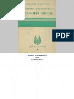 Maritain, Jacques - Lecciones de Filosofía Moral