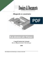 Maquette Domus