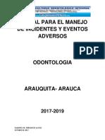 Manual de Eventos Adversos Odontologia