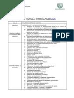 Ficha de Contenidos Tercera Prueba IPLA 2015-2