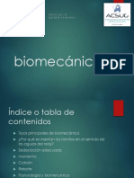 Biomecanica seminario fisica