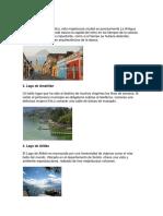 Centros Turisticos de Guatemala Los Mas Importantes