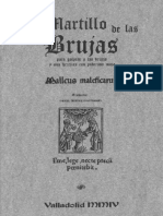 El martillo de las brujas. Malleus Maleficarum