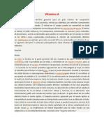 Lectura 3b - Vitamina A