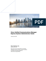 Cisco Unified Communications Manager Express System Administrator Guide