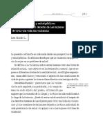 10. Violencia Conyugal y Salud Pública; El Sector Salud y El Derecho de Las Mujeres de Vivir Una Vida Sin Violencia