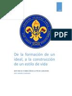 De La Formación de Un Ideal, A La Construcción de Un Estilo de Vida - Erico Jaramillo