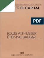 ALTHUSSER, Louis, BALIBAR, Étienne, Para Leer El Capital.pdf