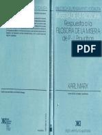 Karl Marx Miseria  de la Filosofía.pdf