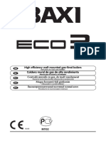 Baxi Eco3 User Manual