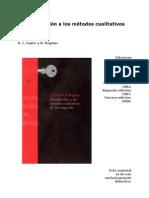22 10TAYLOR S J BOGDAN R Metodologia CualitativaIntroduc