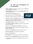 25 Preguntas Para Una Investigación de Mercado y Del Consumidor