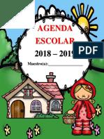 AgendaEscolarCAPERUCITAROJA2018-2019MEEP
