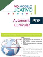 Autonomia Curricular
