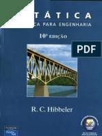 Estática Mecânica Para Engenharia Hibbeler 10ª Ed