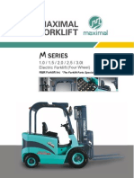 Maximal Electric Forklift Four Wheel