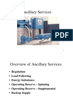 Ancillary Services Notes