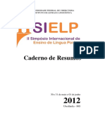 ElianeFAzzari Cadernoderesumos Sielp 2012