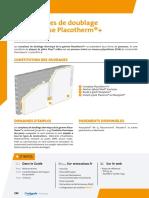Complexes de Doublage Thermique Placotherm