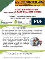 O USO DAS TIC´s E OS AUTISTAS.pptx