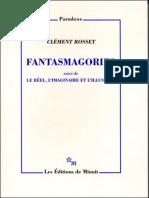 2005 - Fantasmagories - Clément Rosset