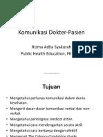 Blok 25 Komunikasi Dr Px