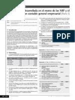 Casuística Desarrollada en El Marco de Las Niif y El Plan Contable General Empresarial (Parte I)