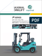 Maximal LPG Propane Forklift Mitsubishi