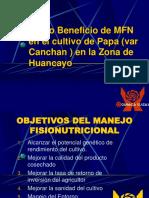 C-B MFN en Papa - Var Canchán